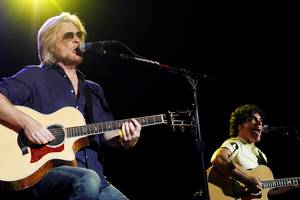 Hall & Oates played Friday night at the Joint at the Hard Rock.