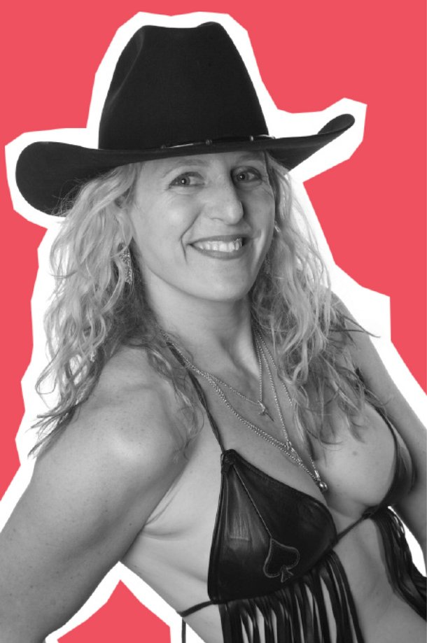 Michelle Dell, the sole owner/investor/operator of Hogs & Heifers Saloons, NYC and Las Vegas.