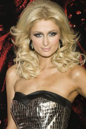 Paris Hilton, in November 2008.