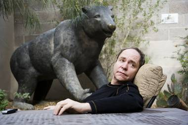 Teller at his Las Vegas home.