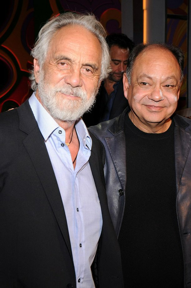 Cheech & Chong, reunited at Caesars.