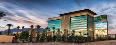 The 202-room, $662 million Aliante Station in North Las Vegas feels like an off-the-rack Red Rock. Both share a desert-modern vibe of textured-rock-meets-sheets-of-glass, but Aliante is blocky and squat, solid but undistinguished.
