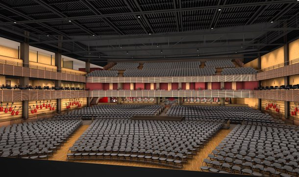 Rendering of the seats in the new Joint