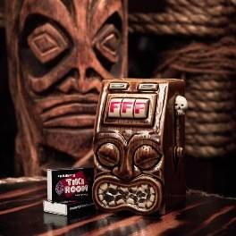 A tiki bandit mug: Drink from it and live forever.