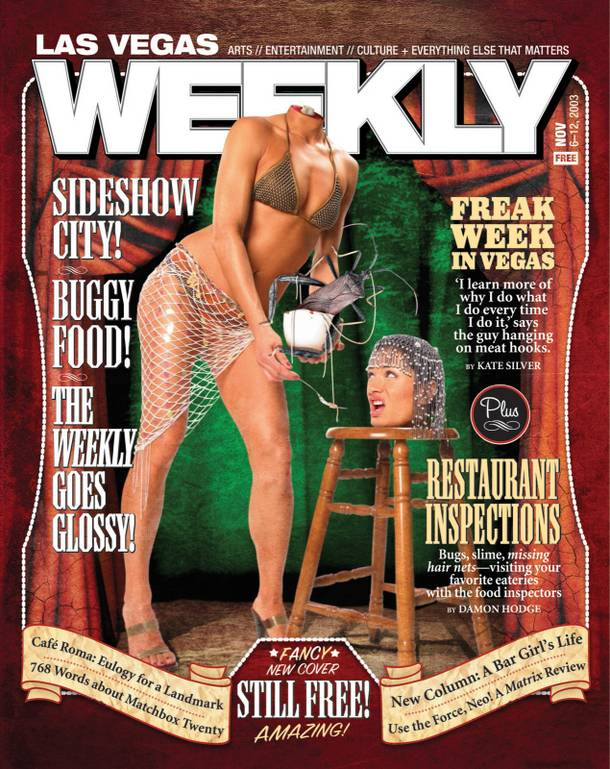 The Weekly is glossy. Hurray!