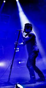 Nine Inch Nails' Trent Reznor.