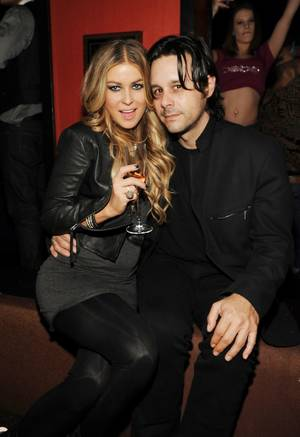Carmen Electra and Rob Patterson.