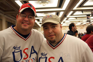 Team USA: James Hayes and Mark Gayhart