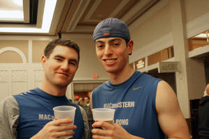 Mac and Stern: Bryan McLaughlin and Shaun Stern, both of New York.
