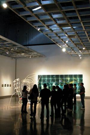 The <em>Weekly</em> staff takes a tour of <em>LA Now</em> at LVAM two days before it closed.
