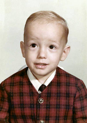 Two-year-old Terry Fator.