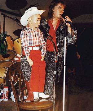 Terry Fator's attempts to use his dummy Walter while with the band Texas didn't always go over well, but it helped him hone the skill that would make him a worldwide sensation.