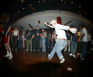 This dance move was all the rage at WMC 2005.