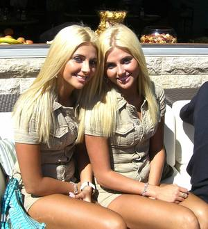 The Shannon twins. One of them is Karissa, and the other is Kristina.