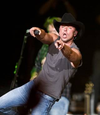 Kenny Chesney at The Joint in the Hard Rock Hotel on April 25.