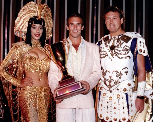 1988: Winning $50,000 in the Keno championship at Caesars Palace.