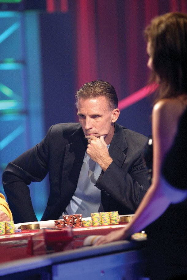 2006: Curtis playing in the Blackjack Legends Tournament on CBS.