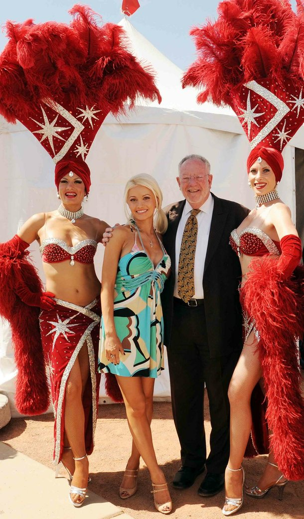 Holly Madison and Oscar Goodman.