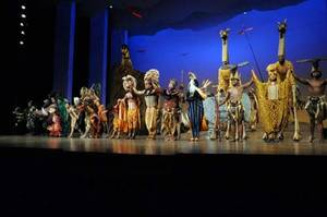 <em>The Lion King</em> at Mandalay Bay.