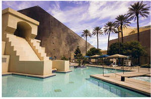 The Luxor pool is about to get fabulous.