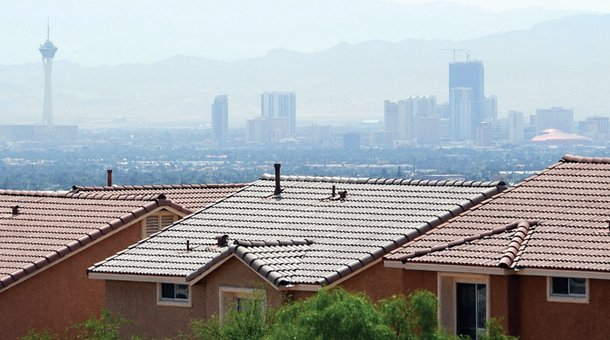 Best View of the City: Top of Summerlin Parkway