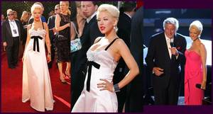 Christina Aguilera wearing Stephen Webster jewelry.