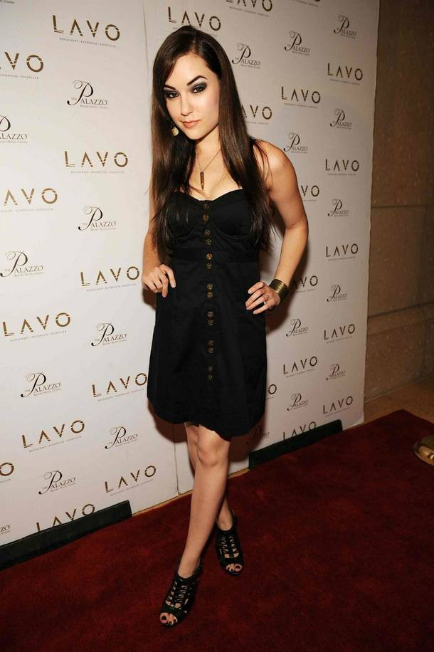 Sasha Grey at Lavo in the Palazzo.