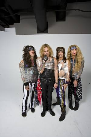 "When your member is ""Community Property,"" Steel Panther uses the barrier method."