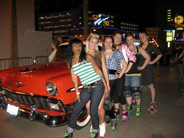 Sin City Roller Girls.