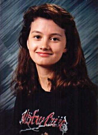 Born Hollin Sue Cullen, Madison is pictured in her seventh-grade school portrait.