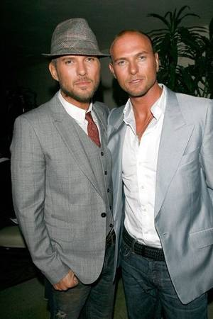 Brothers Matt and Luke Goss.