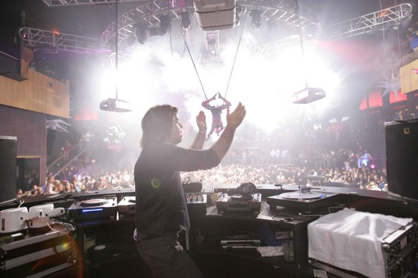 Paul Oakenfold at Rain for Perfecto.