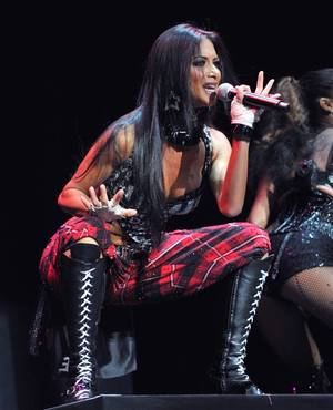 Nicole Scherzinger of the Pussycat Dolls.