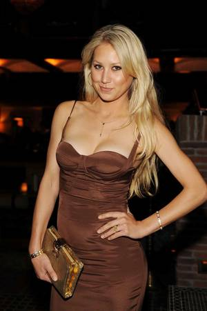Anna Kournikova at Lavo.