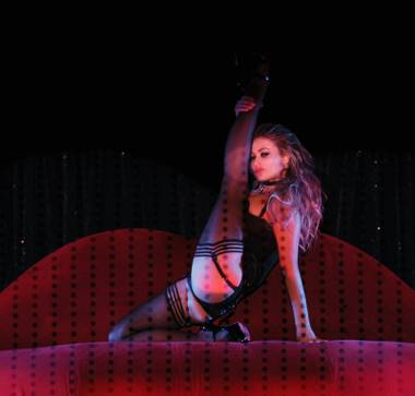 Carmen Electra makes her debut as celebrity guest star in MGM Grand's Crazy Horse Paris.