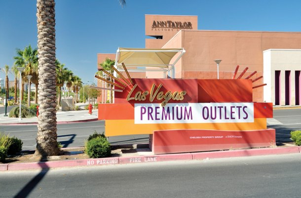 The Las Vegas Premium Outlets in downtown Las Vegas.