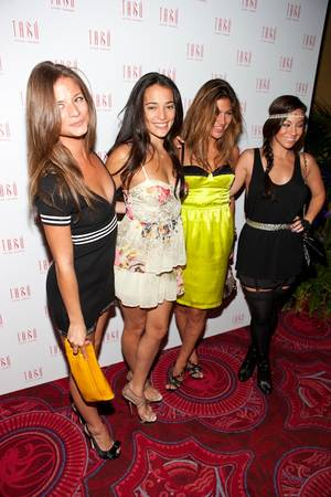 Natalie Martinez hosts her 25th birthday celebration at Tabu Ultra Lounge inside the MGM Grand.