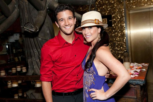 Mark Ballas and Joanna Pacitti at Tao.
