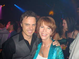 DJ/producer Markus Schulz and Deanna's mom. She has no idea who he is.