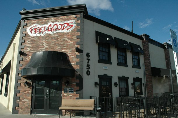 Feelgood's is a bar/restaurant located on Sahara Avenue, near Rainbow Boulevard.