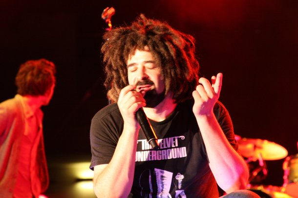 Adam Duritz of Counting Crows at the Red Rock Pool