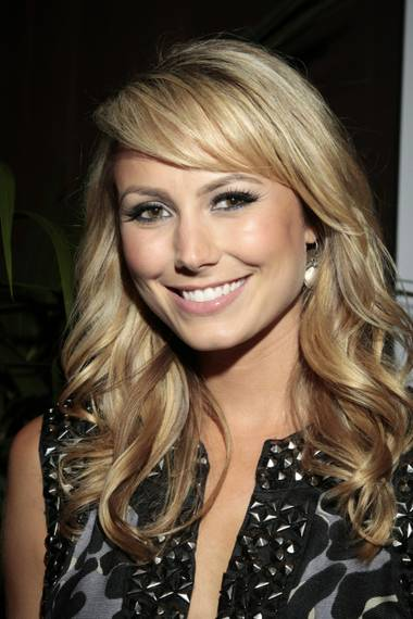 Stacy Keibler at Tabu Ultra Lounge in MGM Grand.