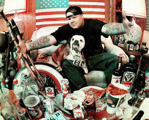 "Meet self-proclaimed ""punk rock's fat brother and hip-hop's bastard son,"" rapper Big B."