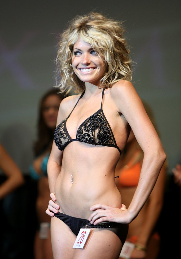Maxim's UFC Octagon girl search winner, Natasha Wicks.