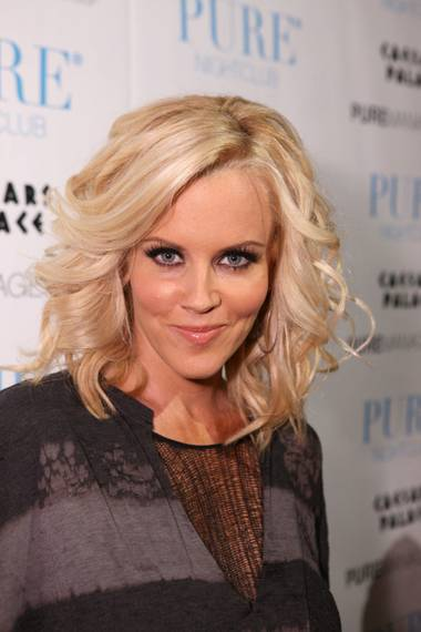 Jenny McCarthy hosts at Pure in Caesars Palace on Aug. 8.