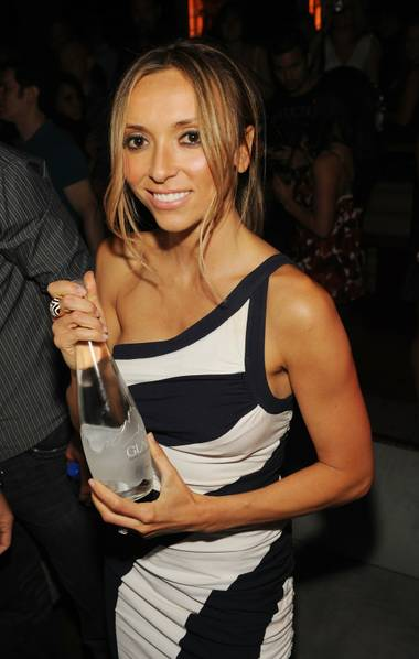 Bill and Giuliana Rancic celebrate her 35th birthday at Tabu Ultra Lounge in MGM Grand.