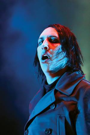 The Christian Right has found more meaningful things to attack, but Marilyn Manson still wants to be heard, dammit.