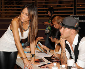 Robin Antin and Matt Goss hold auditions on July 15 for the <em>Matt Goss Live From Las Vegas</em> show at the Palms.