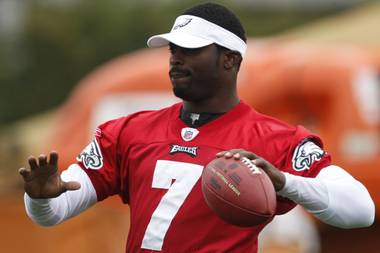 Fresh from the penitentiary, Michael Vick is back and with the Philadelphia Eagles.