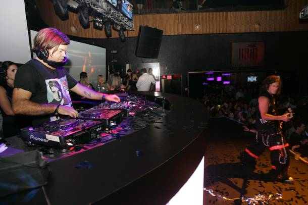 Paul Oakenfold during the one-year anniversary of Perfecto, September 5, 2009.